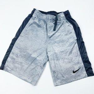 Nike Printed Athletic Wear Basketball Shorts Boys